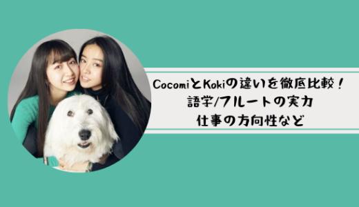 CocomiとKokiは似てない?徹底比較!語学/フルート実力はどっちが上?
