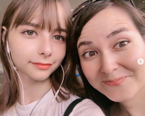 嵐莉菜 母親 顔画像